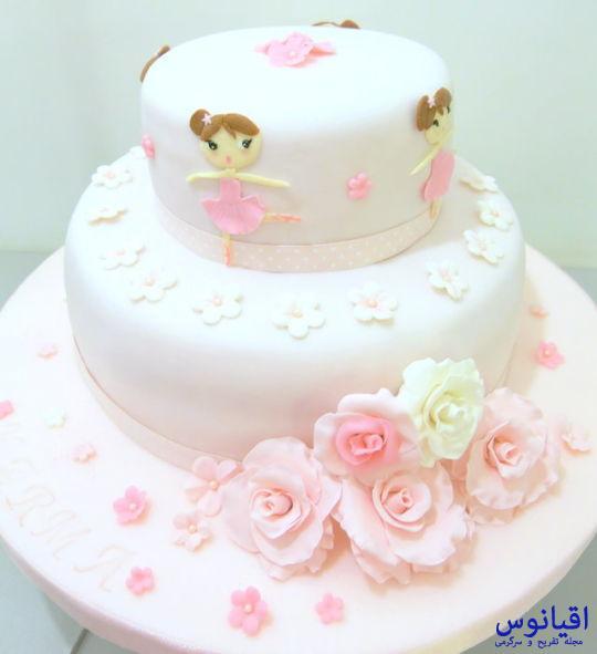 Ballerina Baby Shower Sheet Cake