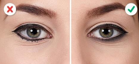 طرز کشیدن خط چشم
