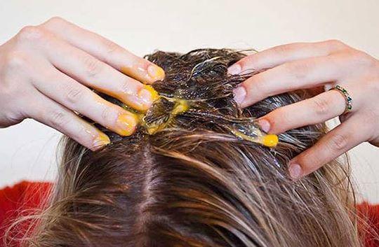 جلوگیری از ریزش موها با زرده تخم مرغ