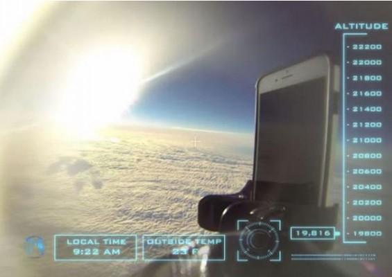 1421529379131 - تست سقوط آیفون 6 از فضا را مشاهده کنید!