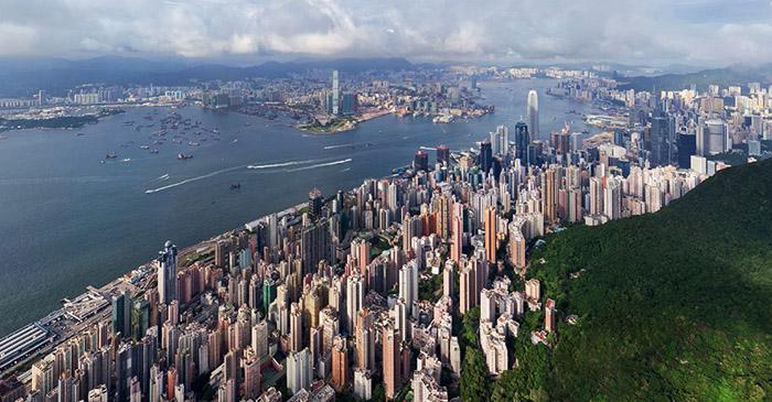 1421966192463 - تصاویر زیبای شهرها از فراز اسمان