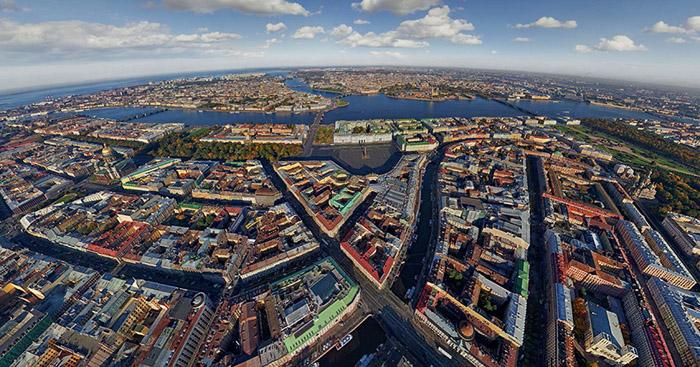 1421966488952 - تصاویر زیبای شهرها از فراز اسمان