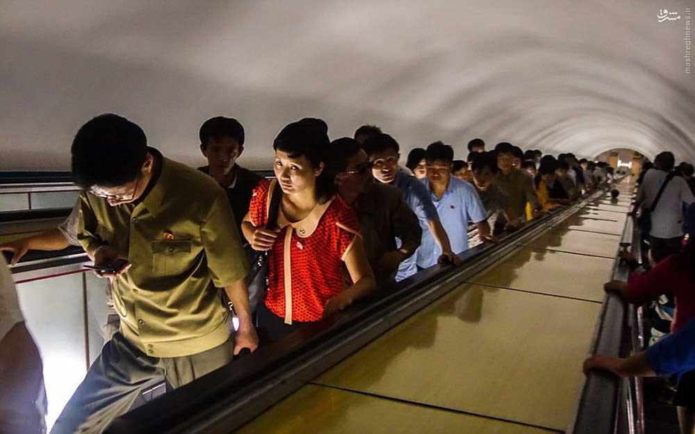 14611949596221 - عکسهای مترو در کره شمالی