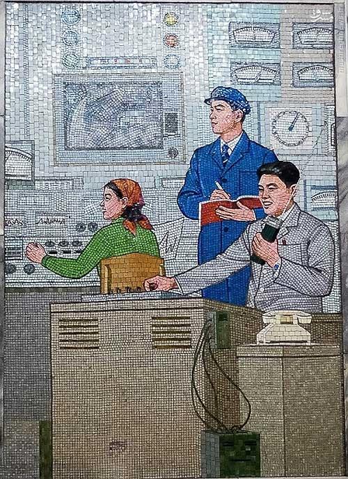 146119528856641 - عکسهای مترو در کره شمالی