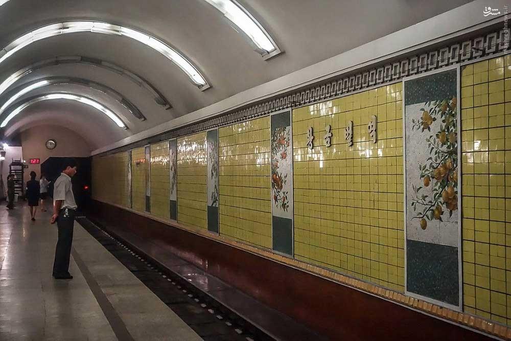 146119528871324 - عکسهای مترو در کره شمالی