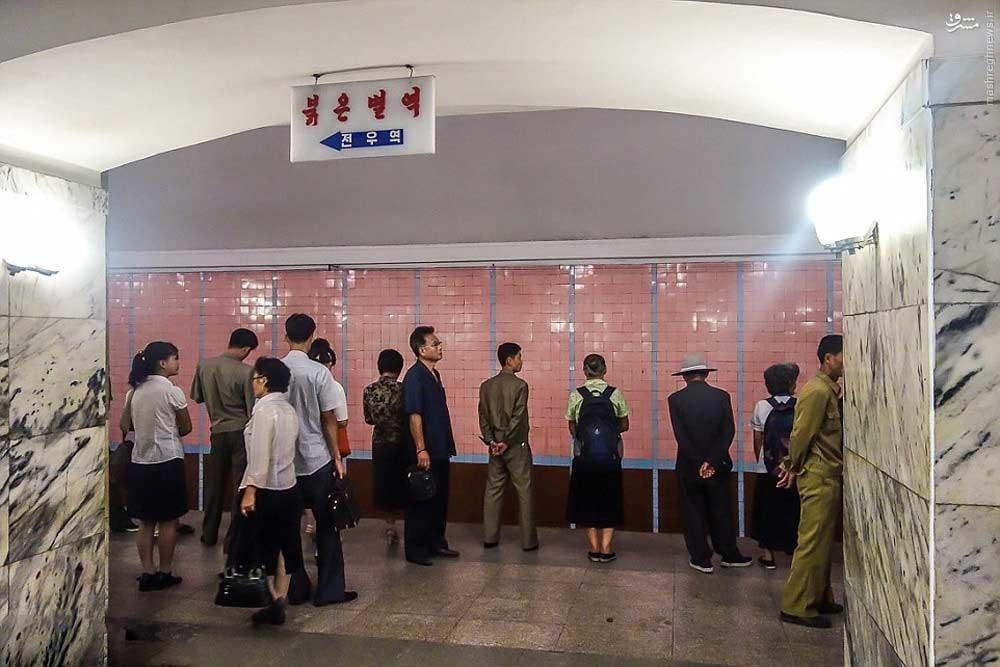 146119528875615 - عکسهای مترو در کره شمالی