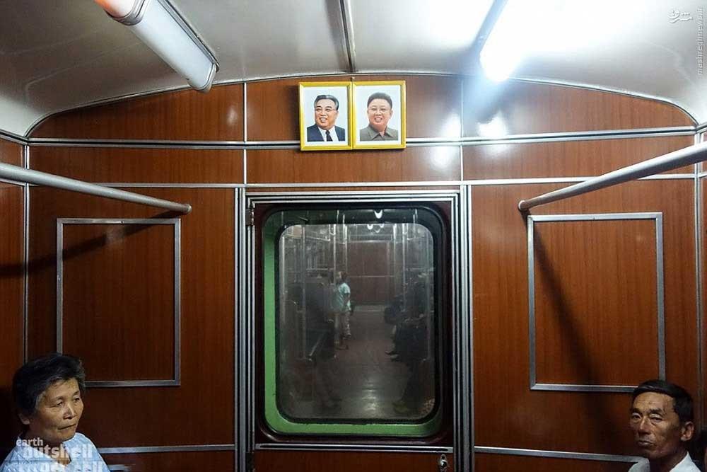 146119528885517 - عکسهای مترو در کره شمالی